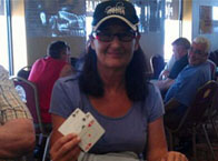 Another 4 of a kind on Let it Ride! Elaine P, $400 Winner!